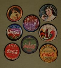 COCA-COLA SERIES 3 COKE SET OF 40 CAPS//POGS RARE