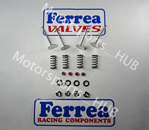 Ferrea Intake Exhaust Valves Titanium Spring Kit Seals Honda CRF250 CRF 2004-07
