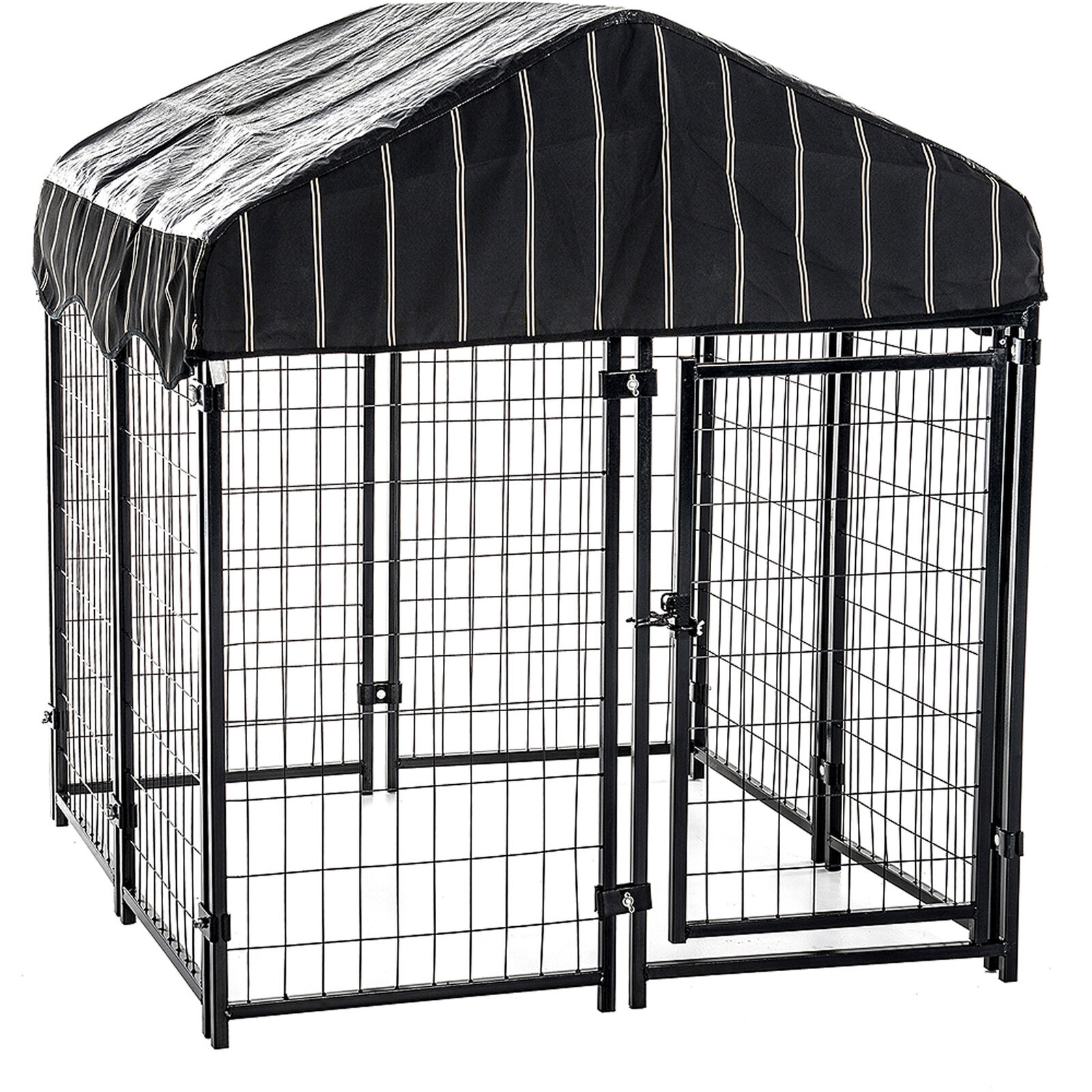 Outdoor Dog Kennel Shelter Fence Indoor Chain Link XXL Extra Large Dogs Cage