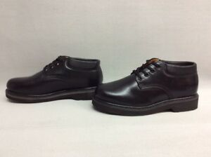 53b8e19cd07 Details about Sears DieHard 82102 Men's Oxford Black Leather Work Shoes