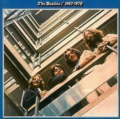 THE BEATLES 1967-1970 Vinyl Record LP German Apple