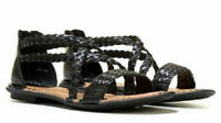 Boc By Born Candee Sandals Woven Black Sz 6 Med