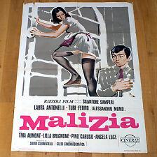 MALIZIA manifesto poster affiche Laura Antonelli Salvatore Samperi Erotico 1973