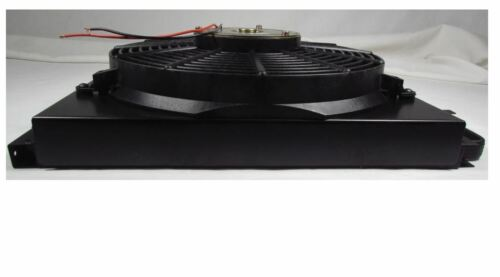 """TBI CN100FS Remote Mount A//C Condenser with 14/"""" Fan and Shroud"""