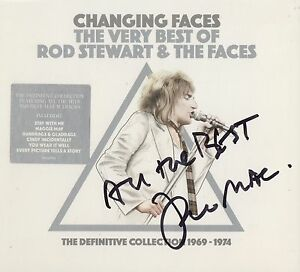 Faces  Changing Faces Best Of Rof amp The Faces SIGNED 2xCD Album - Thatcham, Berkshire, United Kingdom - Faces  Changing Faces Best Of Rof amp The Faces SIGNED 2xCD Album - Thatcham, Berkshire, United Kingdom