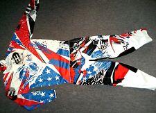 Shot Freegun Patriot Liberty Optik Combo Hose Jersey 36/XL NEU Cross Yamaha Blau