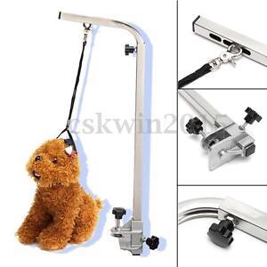 Adjustable-Portable-Grooming-Bath-Table-Arm-Leash-Pet-Dog-Bath-Desk-Accessory