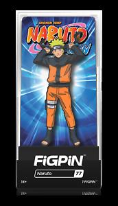 #77 Collector Enamel Pin Metal Anime Manga Acrylic Case FiGPin New Naruto