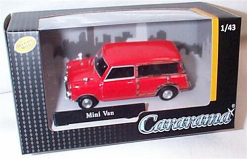 Mini Traveller Cor Vermelha Escala 1-43 Novo Na Caixa