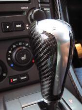 Pomello del cambio SHIFT Stick nero in fibra di carbonio in fibra per Range Rover SPORT TDV8 HST