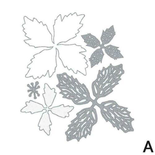 Blume Metall Stanzformen Schneideschablonen DIY Scrapbooking Album Decor H3H2