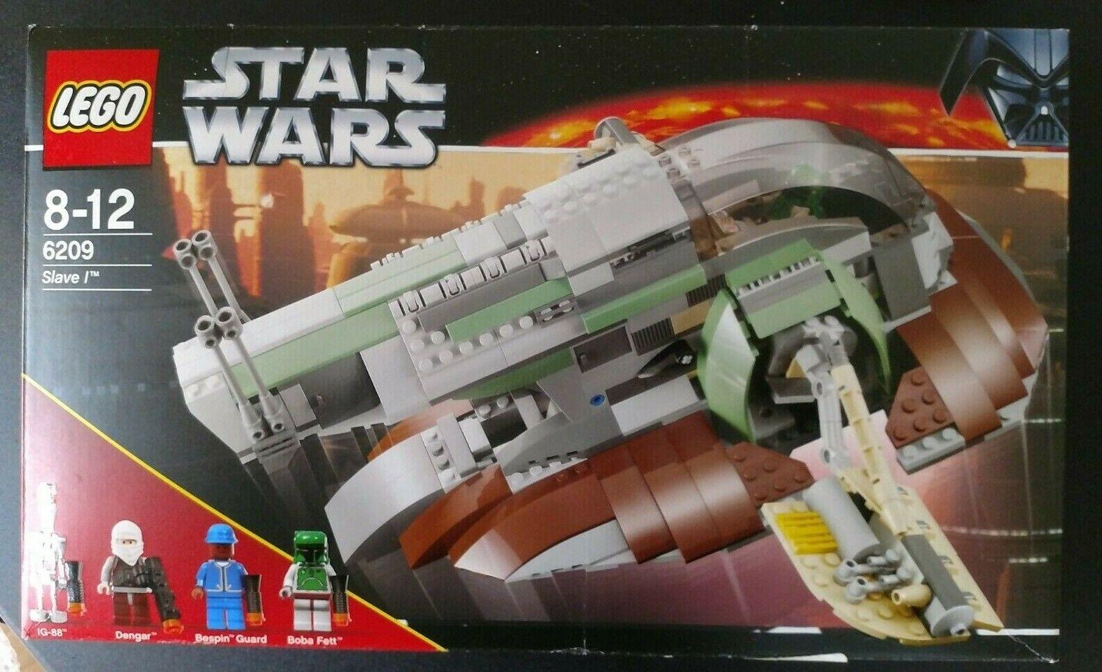 Lego Estrella Wars 6209  esclavo me retiré conjunto, Sellado Nuevo Muy Poco Común Muy difícil de encontrar