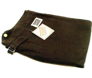 Old West trousers pants BROWN cotton V notch back Frontier Classics size 34 to54