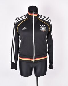 Adidas-Allemagne-Femme-Pull-Taille-UK-14-I-46
