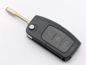 3 Botón Recambio Voltear Clave Fusión Para Ford Escort Ka Puma Etc Mondeo