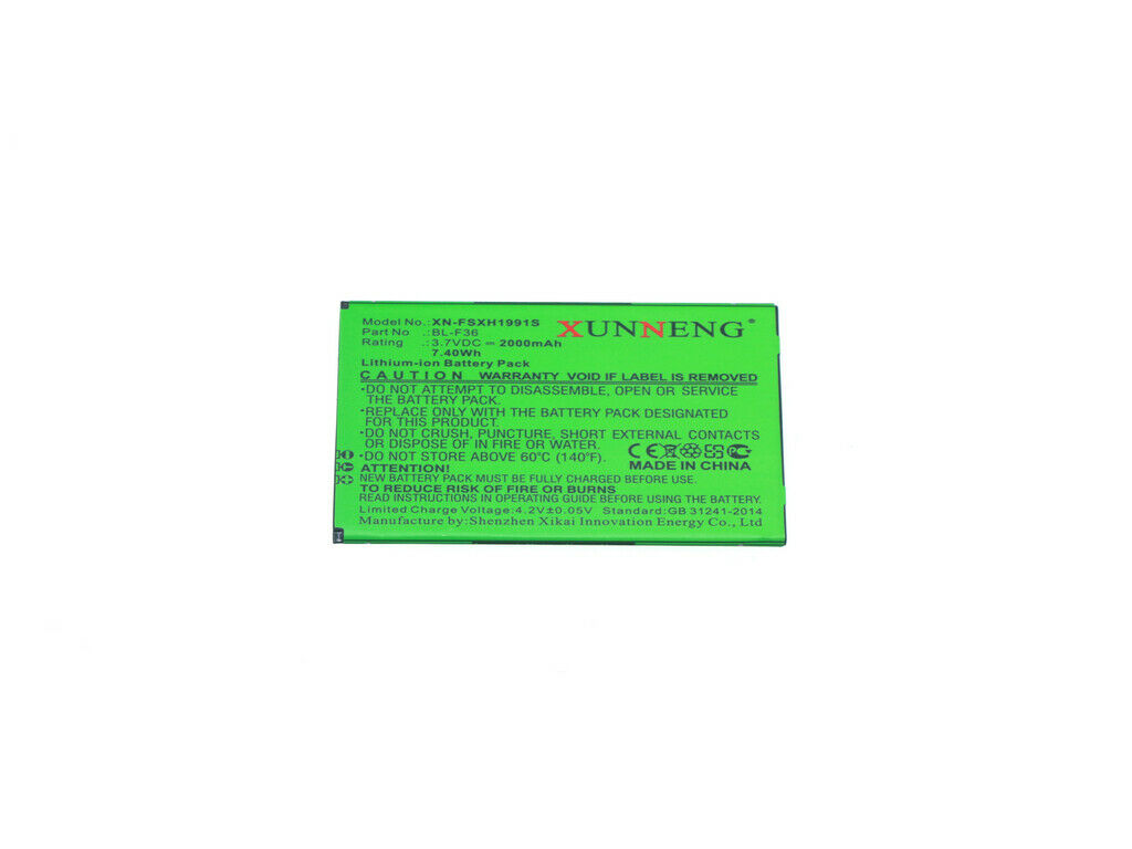 PHICOMM BL-F36 Battery for PHICOMM C1530L 2000mAh Replacement