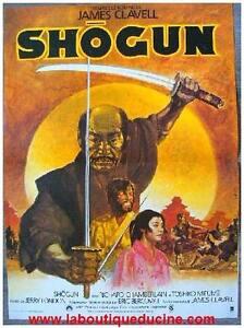 SHOGUN Affiche Cinéma / Movie Poster JAMES CLAVELL CHAMBERLAIN ...