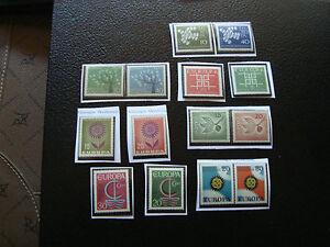 Germany-Rfa-Europa-2-Stamps-N-12-Stamps-N-A22-Stamp-Germany