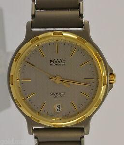 BWC-SWISS-Herrenuhr-Quartz