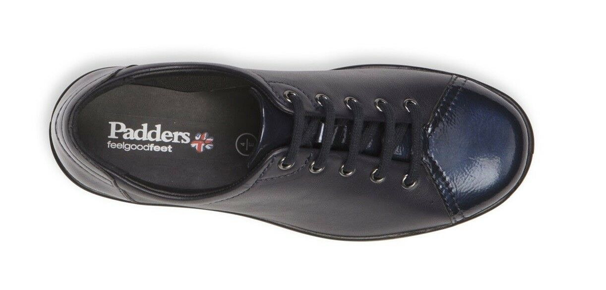 Padders Galaxy 2 Leder E E Leder Fitting Lace up Comfort Schuhe Winter Größe 3-9 Navy 00dde9