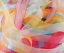 Organza//Chiffon//Sheer Ribbon Bundle//Pack-Mixed Plain Colours-10 x 1 Mtr 25mm 1/""