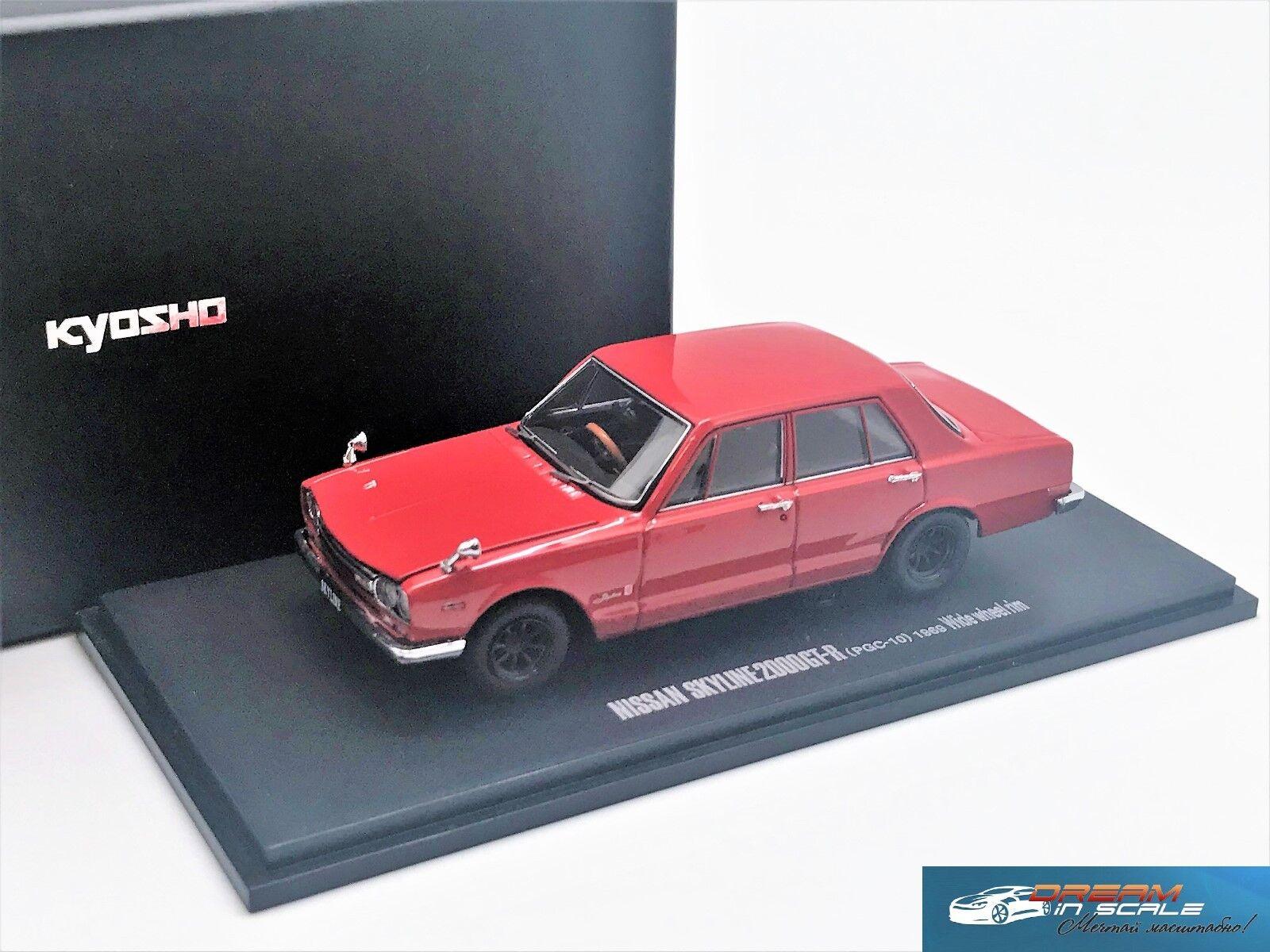 Nissan Skyline 2000GT-R PGC10 1969 KYOSHO 05511R 1 43