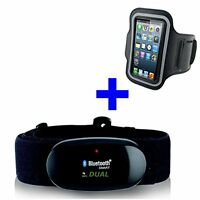 Bluetooth 4.0 And Ant Chest Strap For Iphone 4s / 5/5s / 5c / Wahoo, Use Strava