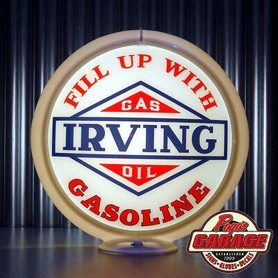 "Made by Pogo/'s Garage 13.5/"" Gas Pump Globe Royalite R Gasoline"
