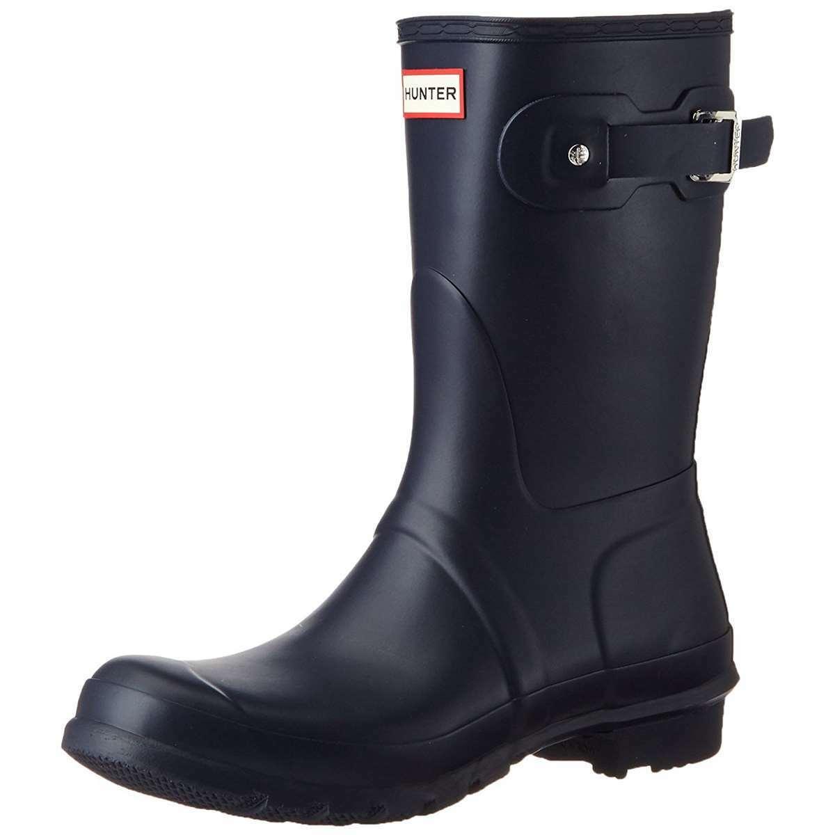 marchio famoso Hunter Hunter Hunter donna stivali Original Short Rain avvio Navy  ti renderà soddisfatto