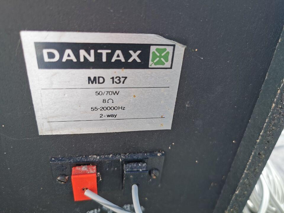 Højttaler, Dantax, MD 137