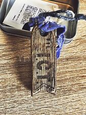 Visvim ict key holder (flag) handmade wooden cloth keychain NBHD WTAPS