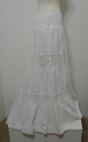 Crochet Dentelle Bordure Want En 100 Cotton Plissé Hippie Boho Blanc Paysante 8qXHwPq