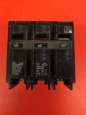 NEW Siemens Q360 60 Amp 3 Pole Type QP Circuit Breaker 240V QP360