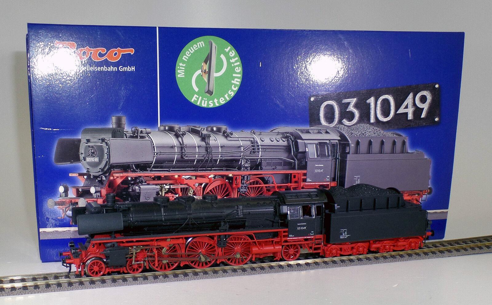 Roco h0 69284, máquina de vapor de la DB, br 03.10, Lok 03-1049, digital (w571)