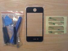 Cristal de Pantalla Tactil Negra para Apple Iphone 4S + Adhesivo + Herramientas