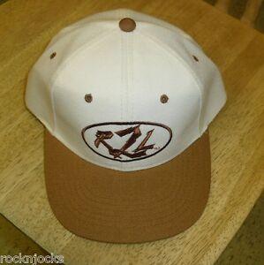 R2L-Refuse-2-Luze-hat-snapback-brownish-tan-bill-Mint-dead-stock-new-Never-Worn