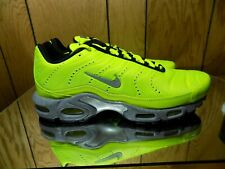 size 40 67f94 017f8 Nike Air Max Plus PRM Full Volt Silver Men Running Shoes SNEAKERS 815994-700