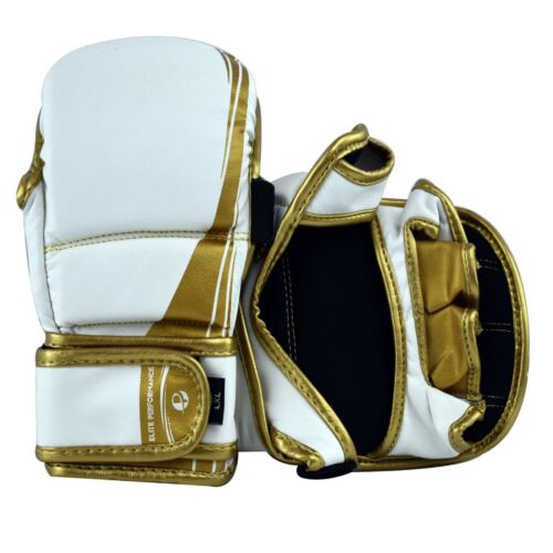 PFG MMA Sparring gloves Pro Elite Grappling Punching Cage Fight UFC Mitts boxing