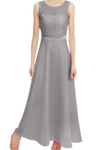 UK Kids Flower Girl Dress Wedding Bridesmaid Pageant Communion Formal Ball Gown
