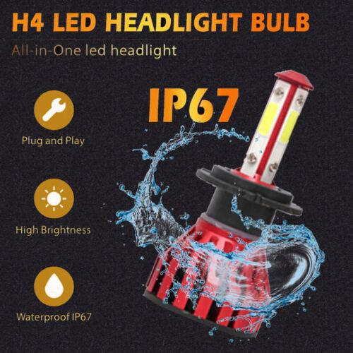 4-Sides 9005+H11+H11 LED Headlight Kit Hi//Lo Beam Fog Light 4500W 720000LM 6000K