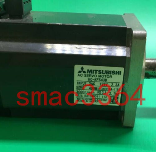 1PC Gebraucht Mitsubishi servo motor HC-KFS43B 400W Tested #X1