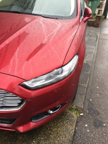 Ford Mondeo Mk5 Only 2012-2016 Wing Mirror Rain Deflector Visor Smoked Eyebrow