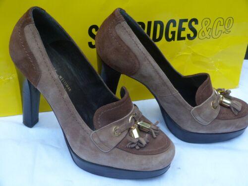 085usa Scarpe 6 Taglia taupe tacchi piattaforma 5 sapatos feminino Stuart Weitzmen 39 5 p4n0RnBxw
