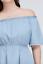 Lane-Bryant-Chambray-Off-The-Shoulder-Fit-Dress-Plus-14-16-18-20-26-28-1x-2x-4x thumbnail 2