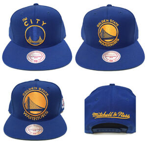 best service 593b1 3579f Image is loading Mitchell-and-Ness-Golden-State-Warriors-The-City-