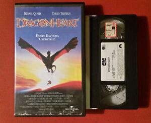 Amical Dragonheart (1996) Dennid Quaid - Vhs 1° Ed. Cic Video Ex Rent