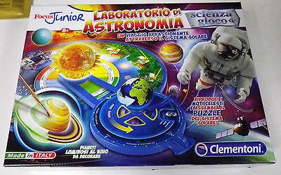 Focus Junior Laboratorio di Astronomia Clementoni Scienza Gioco Italiano13816