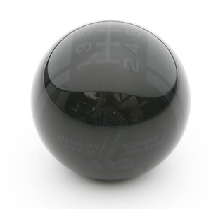 Shelby-Super-Snake-Shifter-Knob-Black-With-Black-Ghost