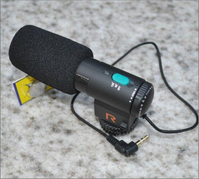 MIC-109 External Stereo Microphone for Canon 6D 70D 100D 760D 5D 7D II 550D 650D