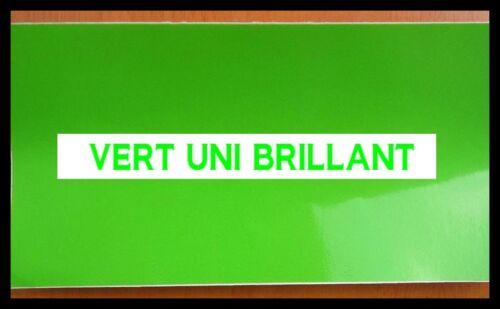 FILM VERT UNI BRILLANT 152 x 50 cm Covering